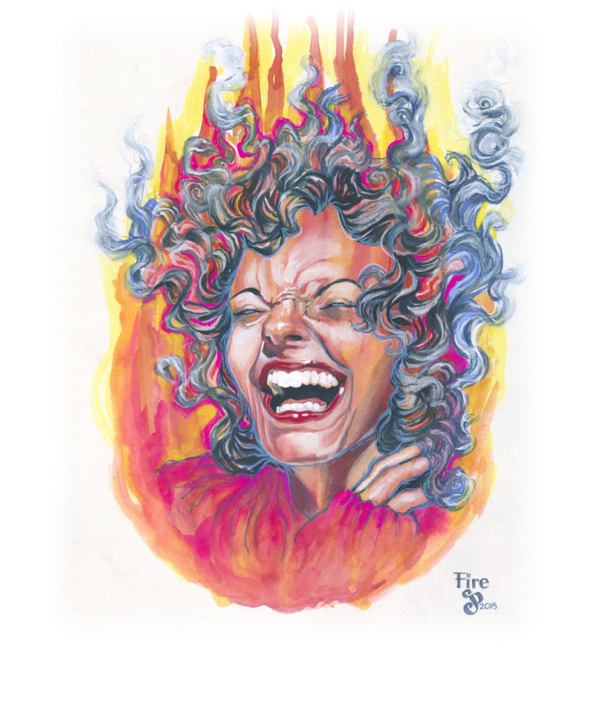 Fire - Julia L Powell