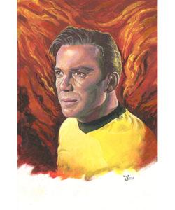 Gouache and Acrylic Painting - Kirk