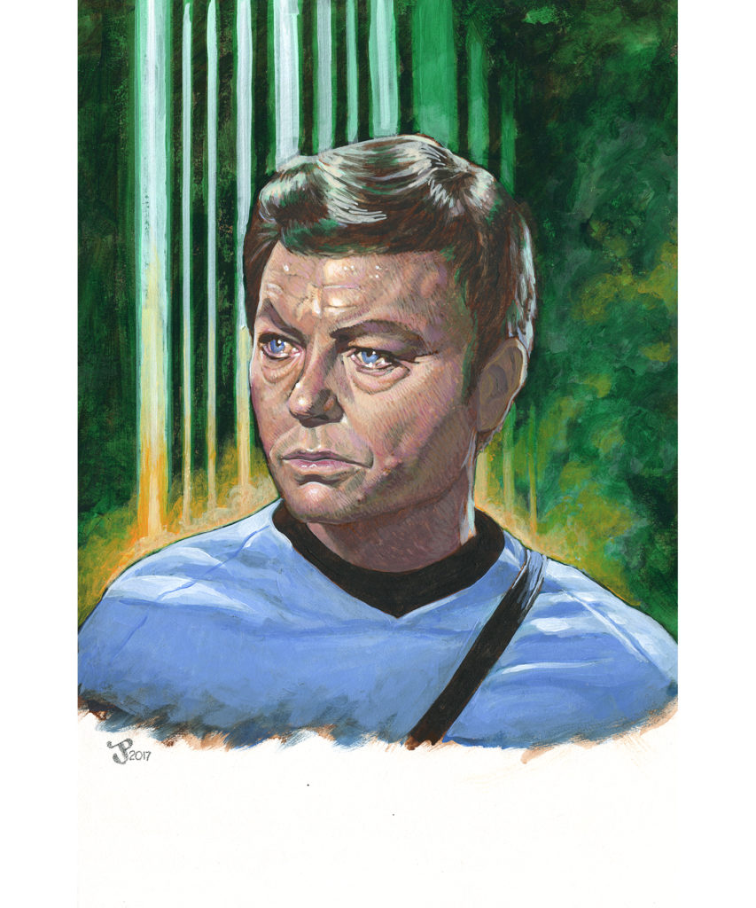 Gouache and Acrylic Painting - McCoy