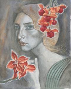 Gouache Painting - Bittersweet Melancholy