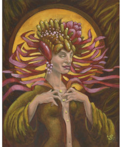 Oil Painting - Priestess